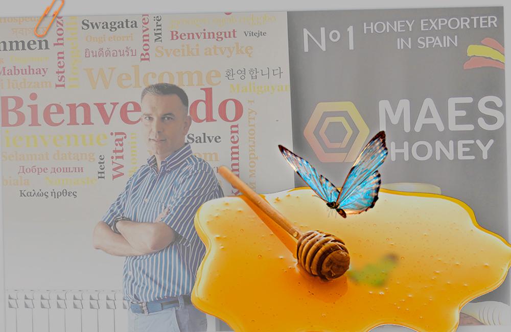 Miel ecológica de Maes Honey.